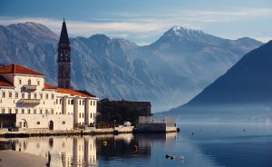 montenegro, kotor, perast, travel, beach, bay, outdoor, tower,